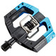 Crankbrothers Mallet Enduro Pedal black/electric blue